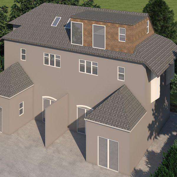 Gambrel Roof Loft Conversion