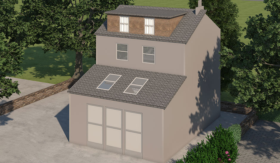 What Is A Hip To A Gable Loft Conversion