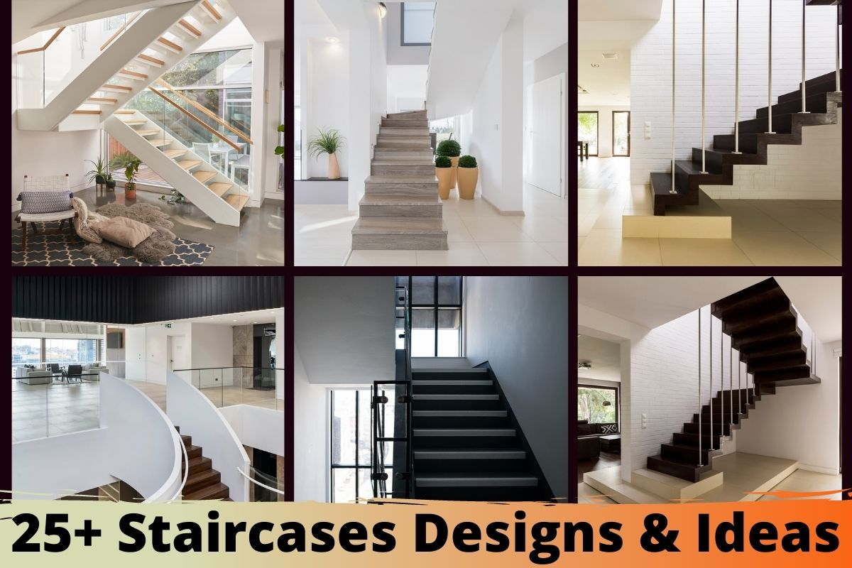 25+ Staircases Designs & Ideas
