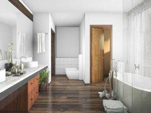 Simple Modern Bathroom