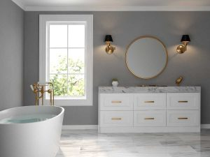 Creating a soothing bath retreat with quality accessories