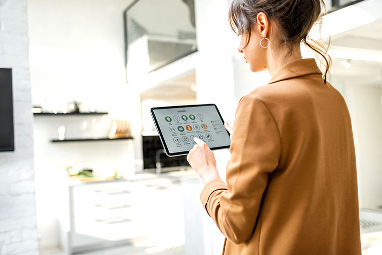 Integrates with smart home automation